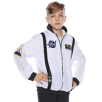 Astronaiut bunda dieťa biela