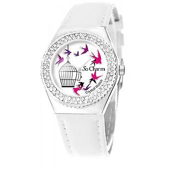 Bekijk so charm horloges MF316-OISEAU-CAGE - Dameshorloge