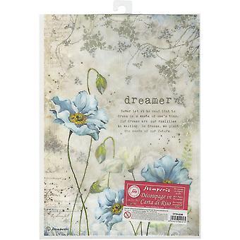 Stamperia Reis Papier Blatt A4-Dreamer