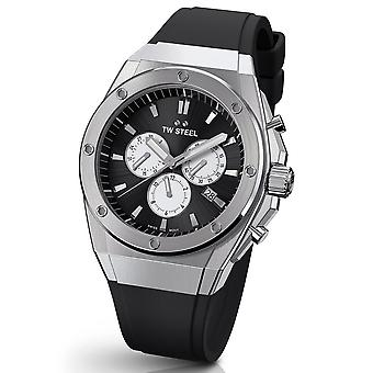 TW Steel Ceo Tech 44 Mm Chronograph Watch Ce4041