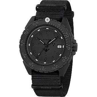 KHS Wristwatch الرجال المنفذ الأسود تيتان XTAC CR KHS. ENFBTCRXT.NB