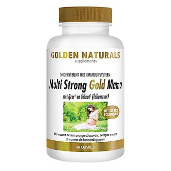 Golden Naturals Multi Strong Gold Mama (60 vegetarian capsules)