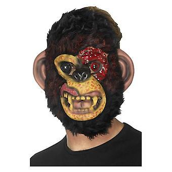 Schimpansen Zombiemaske