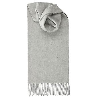 Royal Speyside Lambswool Plain Scarf - Light Grey