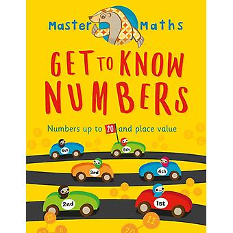 Master Maths Book 1 Get to Know Numbers by Chatterjee & Anjana