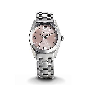 LOCMAN - Wristwatch - Ladies - 0804A11A-00PKNKB0 - STEALTH LADY ONLY TIME QUARTZ