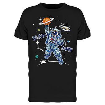 Slam Dunk Astronaut Basketball Tee Men's -Afbeelding door Shutterstock
