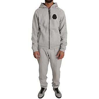 Gray cotton sweater pants tracksuit a6