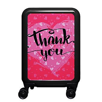myTrolley Thank You S, 4 rollen, 55 cm, 32 L, Zwart