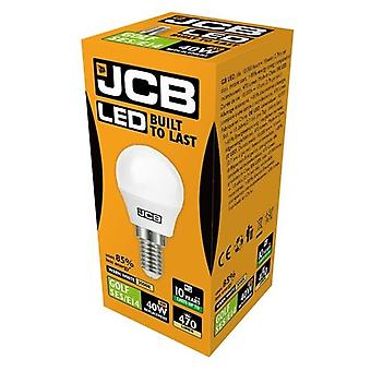 JCB LED Golf 470lm Opal 6w Light Bulb E14 2700k