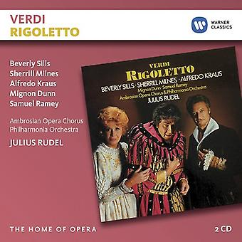 Rudel*Julius / Sills*Beverly / Kraus*Alfredo - Verdi: Rigoletto [CD] USA import
