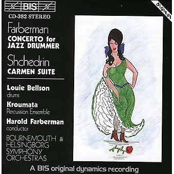 Shchedrin/Farberman - Farberman: Concerto for Jazz Drummer; Shchedrin: Carmen Suite [CD] USA import