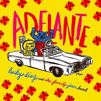 Diaz*Lucky & the Family Jam Band - Adelante [CD] USA import