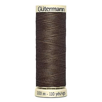 Gutermann Sew-all 100% Polyester Thread 100m Hand and Machine Colour Code  - 252