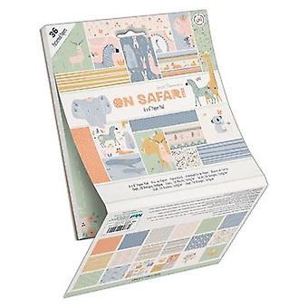 ورق الورق على سفاري 6x6 بوصة ورقة لوحة (36pk) (PMA 160434)