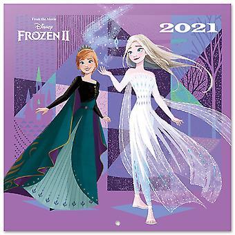 Disney Frozen Calendar 2021 Official Calendar 2021, 12 months, original English version.