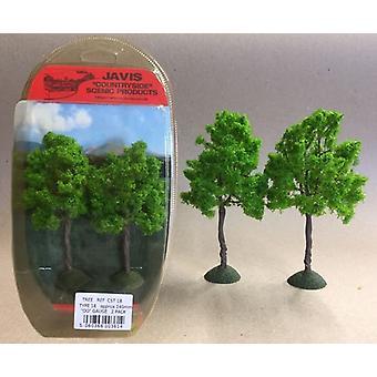 Countryside Trees Type 18 - 2 x 140mm OO Gauge