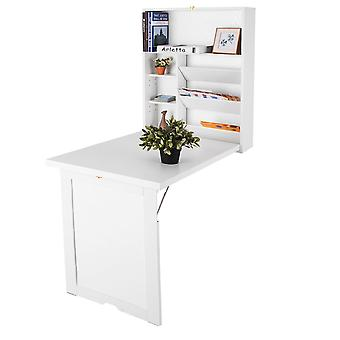 Wall Mounted Desk Wall-integrated Computer Table Folding White Space-Saving