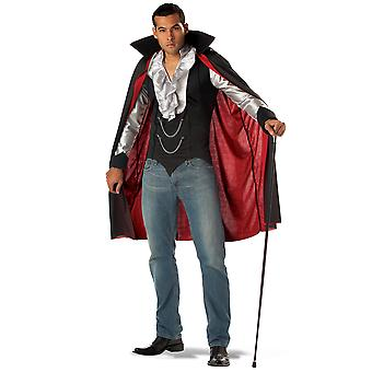 Very Cool Vampire Count Dracula Twilight Gothic Halloween Mens Costume