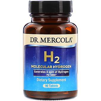 Dr. Mercola, H2 Moleculaire Waterstof, 90 Tabletten