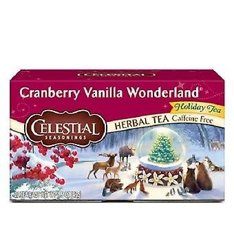 Celestial Seasonings Tea Cranberry Vanilla Wonderland