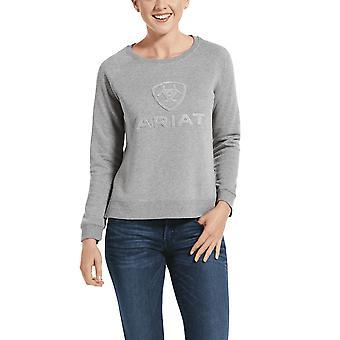 Ariat Torrey Sweatshirt femme - Heather Grey