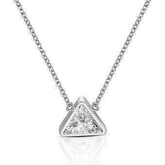 Bermuda Hanger (zilver, Roos) Ingelegd met kristallen van Swarovski X 2