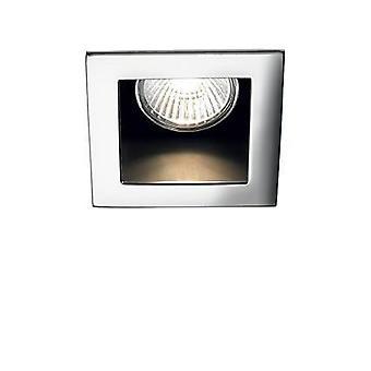1 Lys forsænket Spotlight Chrome, GU10