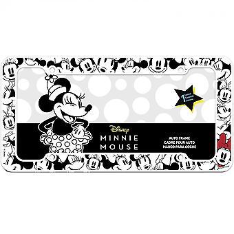 Disney Minnie Mouse Zwart-Wit Kenteken Frame