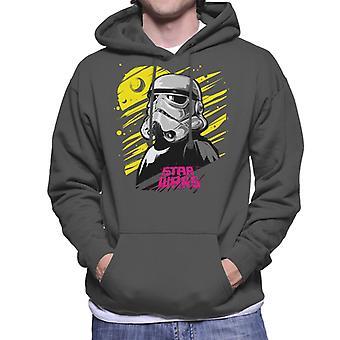 Star Wars Bold Imperial Stormtrooper Men's Hooded Sweatshirt