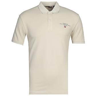 Napapijri Elbas Dove camiseta polo gris