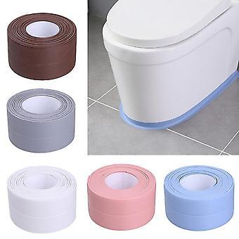 Pvc Kitchen Waterproof Wall Sticker Self-adhesive Seam Toilet Corner Seal Strip