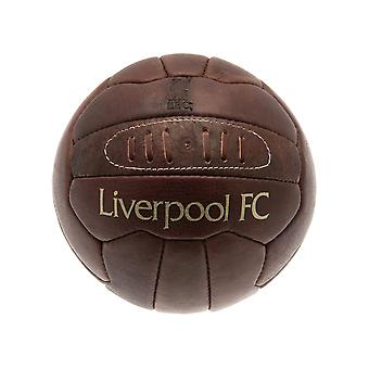 Liverpool Retro Heritage Leather Ball Size 5