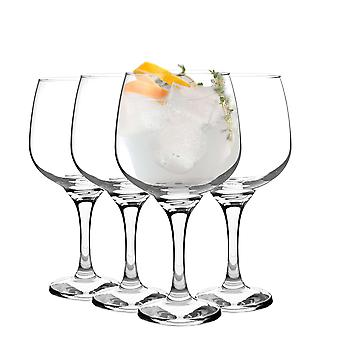 Rink Drink 4 Piece Balloon Gin Glass Set - Grand Copa Style Bowl Glass - 730ml