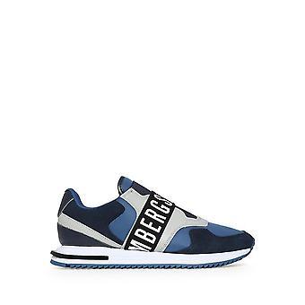 Bikkembergs - Shoes - Sneakers - HALED_B4BKM0053_400 - Men - navy,lightgray - EU 43