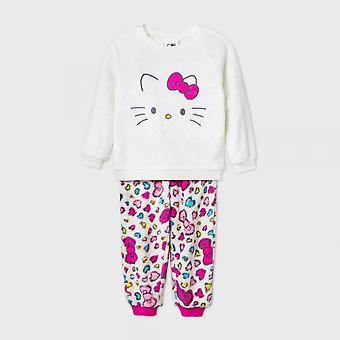 Hello Kitty Cuddle Fleece 2-Piece Pajama Set