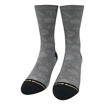 Merge 4 Foo Fighters Icons Socks - Grey