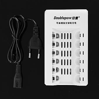 Doublepow K206 6 Slot AA AAA Rechargeable Battery Charger