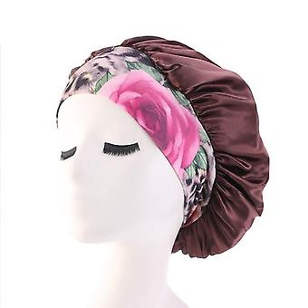 Satin Hair Cap-athletic Look And Confortable Head Wear