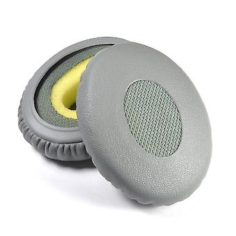 Hellfire Trading Pair of Replacement Earpads Cushions Grey for Bose 2 2i OE2i OE2