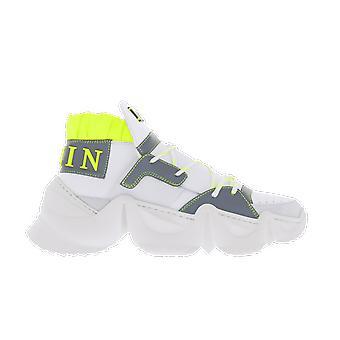 Philipp Plein Lo Top Statement Jaws White S20SMSC258101 shoe
