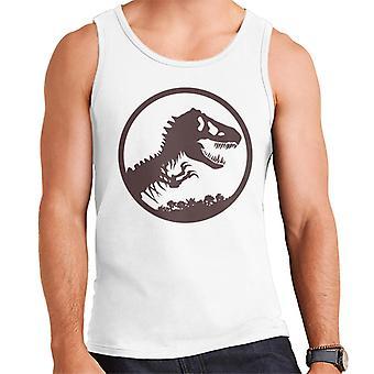 Jurassic Park T Rex Skeleton Icon Men's Vest