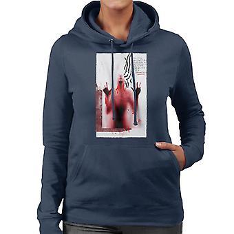 Psycho Norman Bates Guest Note Women's Hooded Sweatshirt