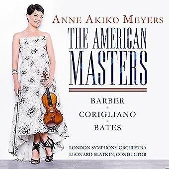 Bates / Barber / Corigliano / Meyers / Leonard - American Masters / Violin Concerto / Lullaby for [CD] USA import