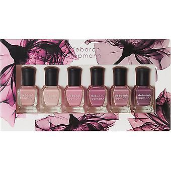 Deborah Lippmann Professional Mini Nail Lacquer Set - Bed Of Roses (6 X 8ml) (11399)