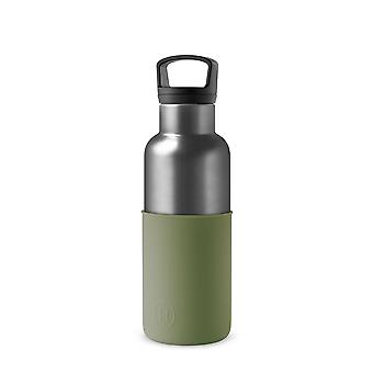 Titanium Grey Army Green 16 Oz fles water