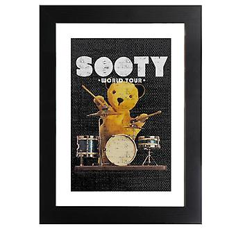 Sooty World Tour Drummer Framed Print