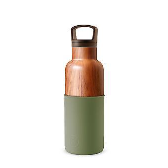 Wood Grain Water Bottle