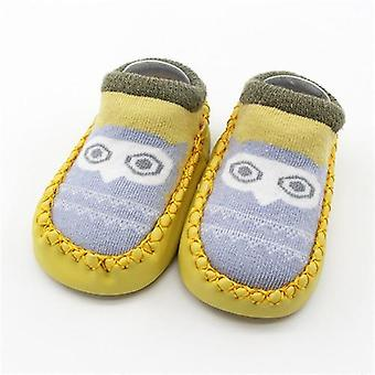 Outono Baby Floor Socks Anti Slip Soft Sole Sock - Newborn Baby Shoes