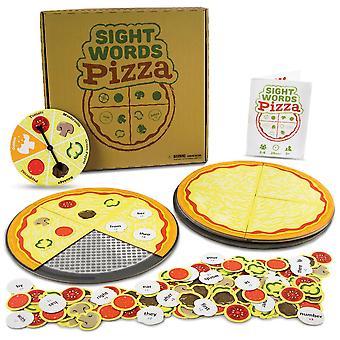 視力の言葉ピザボードゲーム |120語彙の単語ゲーム